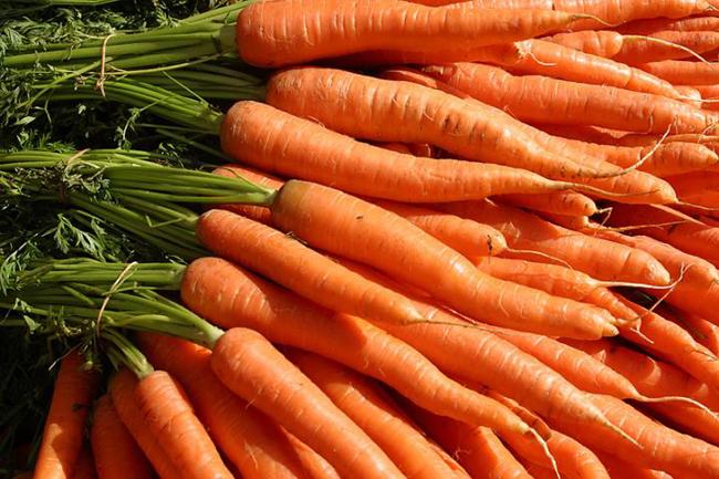 får man bättre syn av morötter