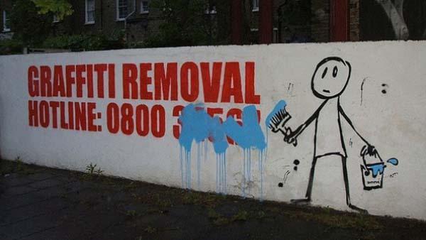 12 bilder som visar att vandalism kan vara bra ibland - och visst blev det till det bättre