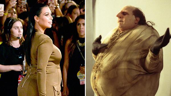 Vem klär sig bäst i detta? Kim Kardashian eller...