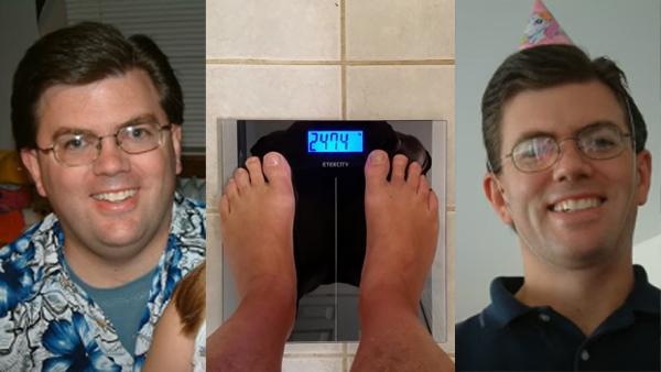 1 år och 45 kilo lättare - den här mannen kommer att motivera dig