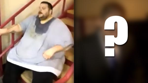 Han vägde över 300 kilo och kunde inte lämna huset - se bara hur han ser ut idag