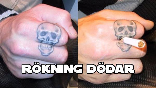 13 kreativa tatueringar som är så kreativa att ingen förstår sig på dem