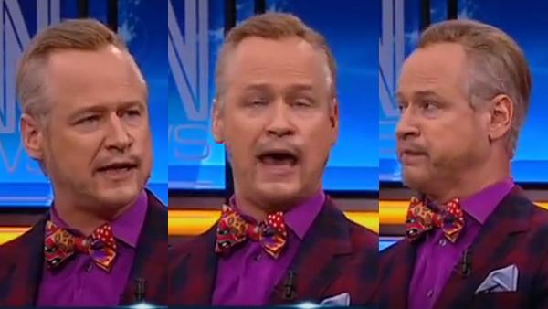 Robert Gustafsson imiterar Tony Irving - ett klockrent guldkorn som får oss alla på ett bra humör